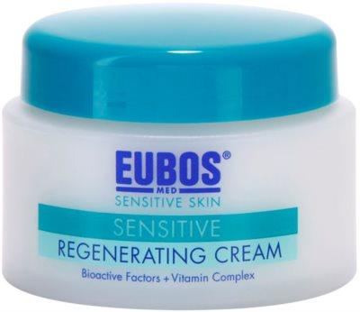 Eubos Sensitive regeneráló krém termálvízzel