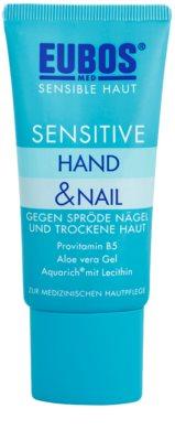 Eubos Sensitive Intensywna terapia dla skóry suchej na popękaną skórę rąk i łamliwe paznokcie