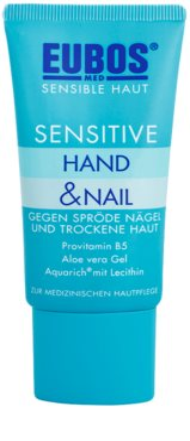 Eubos Sensitive интензивна гиржа за суха и напукана кожа за ръци и крехки нокти