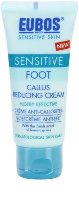 Eubos Sensitive crema pe pielea fierbinte