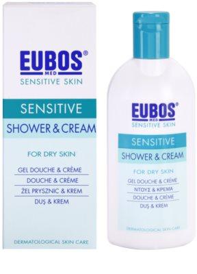 Eubos Sensitive Duschcreme mit Thermalwasser 1