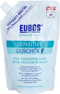 Eubos Sensitive olajos tusfürdő a száraz és nagyon száraz bőrre utántöltő