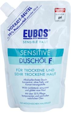 Eubos Sensitive olejek pod prysznic do suchej i bardzo suchej skóry napełnienie