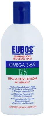 Eubos Sensitive Dry Skin Omega 3-6-9 12% cuidado intensivo para pieles secas e irritadas
