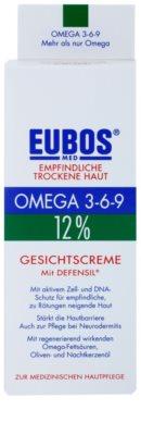 Eubos Sensitive Dry Skin Omega 3-6-9 12% zaščitna krema za obraz z aktivnimi celicami 2