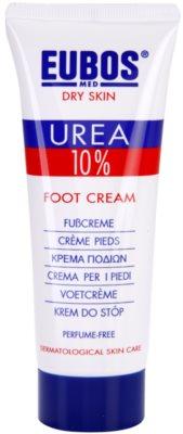 Eubos Dry Skin Urea 10% creme intensivo regenerador  para pernas