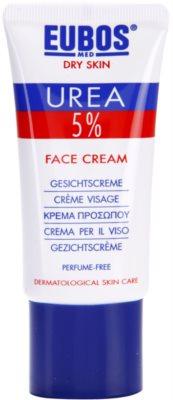 Eubos Dry Skin Urea 5% creme intensivo hidratante para rosto