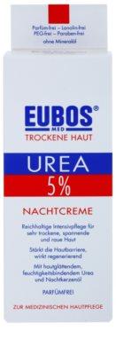Eubos Dry Skin Urea 5% creme de noite nutritivo para pele sensível e intolerante 2