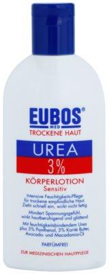 Eubos Dry Skin Urea 3% Körpermilch für empfindliche Oberhaut