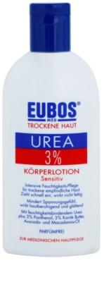 Eubos Dry Skin Urea 3% testápoló tej az érzékeny bőrre