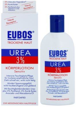 Eubos Dry Skin Urea 3% Körpermilch für empfindliche Oberhaut 1