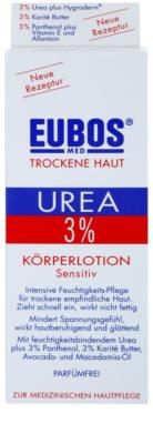 Eubos Dry Skin Urea 3% Körpermilch für empfindliche Oberhaut 2