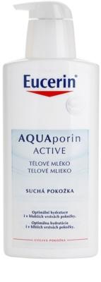 Eucerin Aquaporin Active leite corporal para peles secas e sensíveis 1