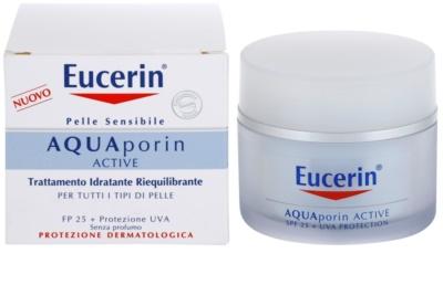 Eucerin Aquaporin Active crema hidratante intensa antiarrugas SPF 25 1