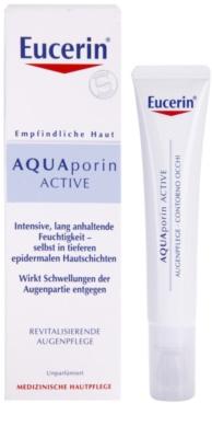 Eucerin Aquaporin Active intensive, hydratisierende Creme für die Augenpartien 1