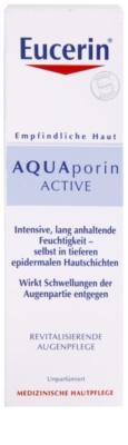 Eucerin Aquaporin Active intensive, hydratisierende Creme für die Augenpartien 2