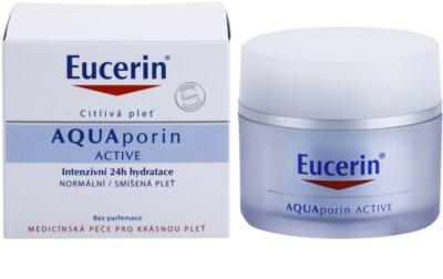 Eucerin Aquaporin Active intenzivna vlažilna krema za normalno do mešano kožo 1