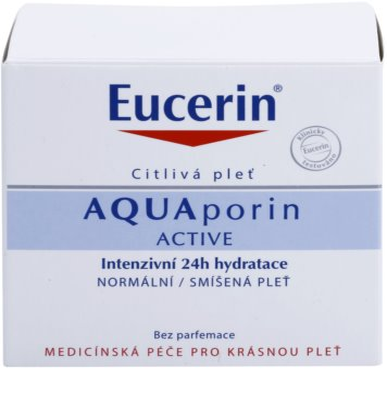 Eucerin Aquaporin Active intenzivna vlažilna krema za normalno do mešano kožo 2