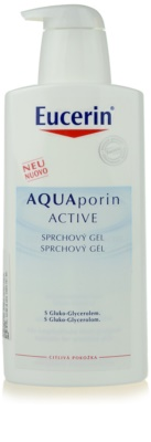 Eucerin Aquaporin Active душ гел  за чувствителна кожа
