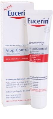 Eucerin AtopiControl Acute krém  száraz és viszkető bőrre 1