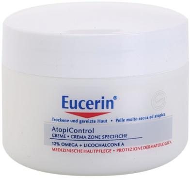 Eucerin AtopiControl crema pentru piele uscata, actionand impotriva senzatiei de mancarime