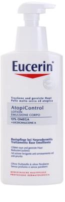 Eucerin AtopiControl lotiune de corp pentru piele uscata, actionand impotriva senzatiei de mancarime