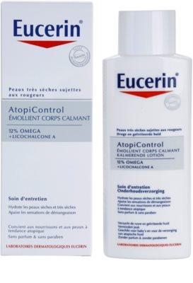 Eucerin AtopiControl заспокоююче молочко для тіла для сухої та атопічної шкіри 1