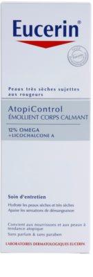 Eucerin AtopiControl заспокоююче молочко для тіла для сухої та атопічної шкіри 2