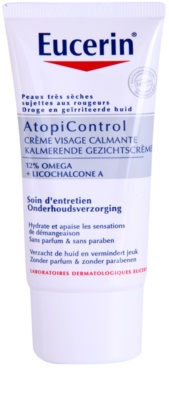 Eucerin Dry Skin Dry Skin Omega creme facial for dry to sensitive skin