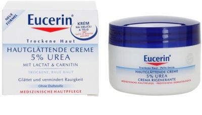 Eucerin Dry Skin Urea krém na tvár a telo pre suchú pokožku 3
