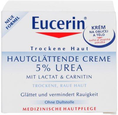 Eucerin Dry Skin Urea krém na tvár a telo pre suchú pokožku 4