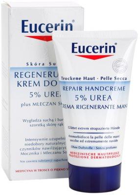 Eucerin Dry Skin Urea krema za roke za suho do atopično kožo 1