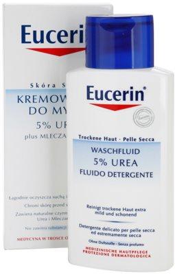 Eucerin Dry Skin Urea crema de ducha para pieles secas y atópicas 1