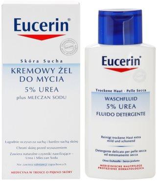 Eucerin Dry Skin Urea crema de ducha para pieles secas y atópicas 2