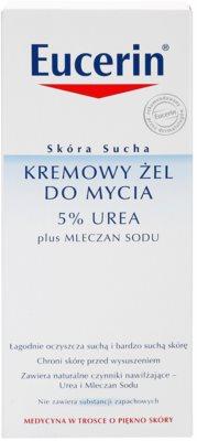 Eucerin Dry Skin Urea crema de ducha para pieles secas y atópicas 3