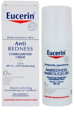 Eucerin Anti-Redness creme de dia neutralizante com pigmentos verdes SPF 25 1