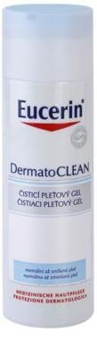 Eucerin DermatoClean gel de limpeza para pele normal a mista
