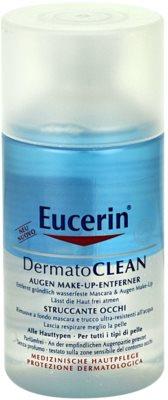 Eucerin DermatoClean desmaquillante de ojos para todo tipo de pieles