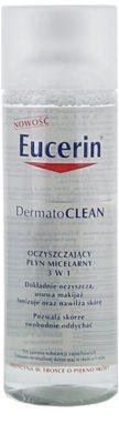 Eucerin DermatoClean oczyszczający płyn micelarny 3 w 1 1