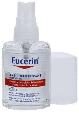 Eucerin Deo antiperspirant ve spreji proti nadměrnému pocení 1