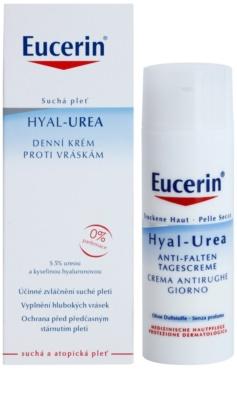 Eucerin Hyal-Urea Tagescreme gegen Falten für trockene bis atopische Haut 2