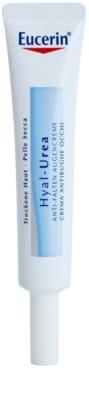 Eucerin Hyal-Urea crema contur pentru ochi pentru piele uscata spre atopica