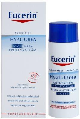 Eucerin Hyal-Urea przeciwzmarszczkowy krem na noc Do cery suchej i atopowej 2