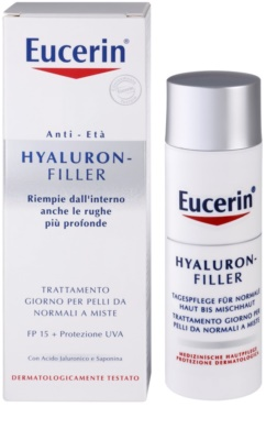 Eucerin Hyaluron-Filler дневен крем против бръчки  за нормална към смесена кожа 2