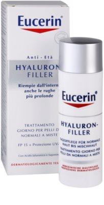 Eucerin Hyaluron-Filler дневен крем против бръчки  за нормална към смесена кожа 3