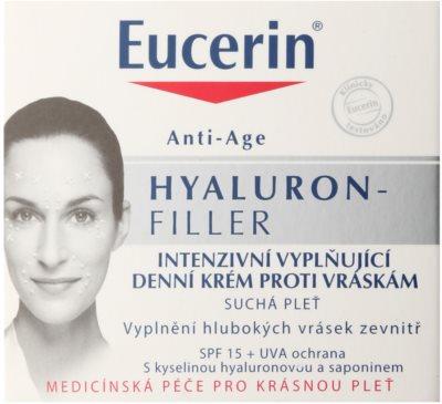 Eucerin Hyaluron-Filler creme de dia antirrugas para pele seca 2