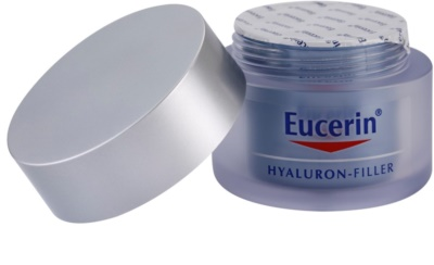 Eucerin Hyaluron-Filler creme de noite antirrugas 1