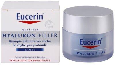 Eucerin Hyaluron-Filler creme de noite antirrugas 2