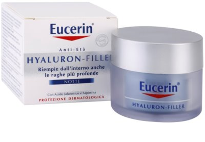 Eucerin Hyaluron-Filler creme de noite antirrugas 3