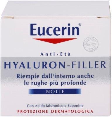 Eucerin Hyaluron-Filler creme de noite antirrugas 4